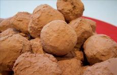 Chocolate-Raspberry Truffles