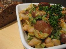 Spanish Tapas Bean Salad