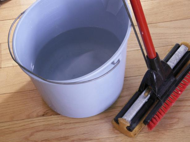 Easy, All-Natural Hard Floor Cleaner