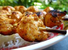 Thai-Style Skewered Chicken