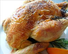 Roast Chicken With Grand Marnier Glaze