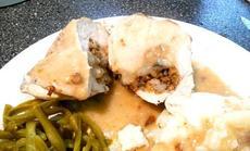 Pecan Stuffed Chicken Breast