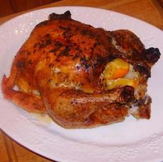 Garlic and Citrus Roast Chicken